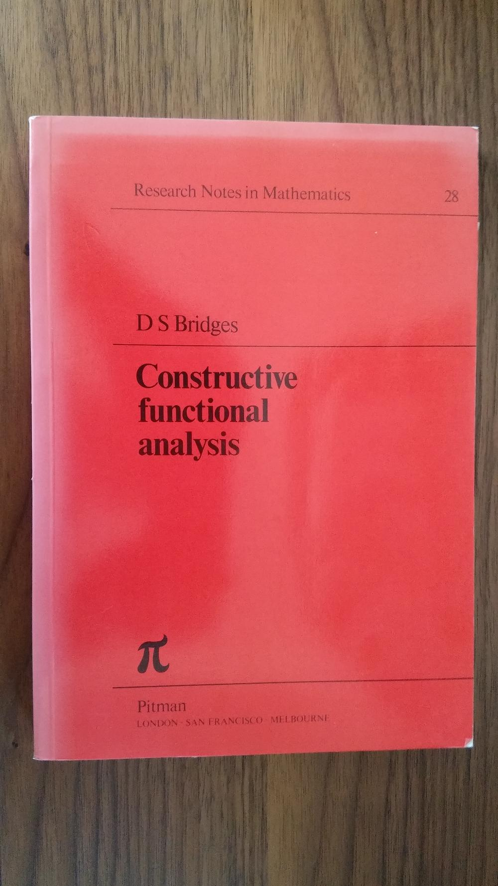 Douglas S  Bridges - My Mathematics